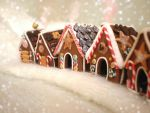 Gingerbread Village by vesssper