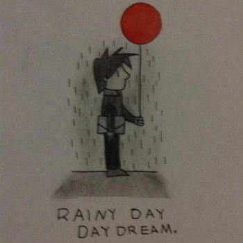 Rainy Day Daydream by MegaManofHonor