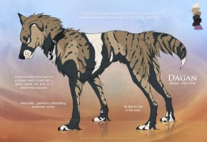 Dagan - Character reference sheet by Nereiix