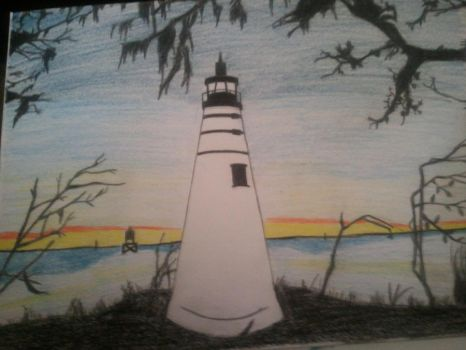 Louisiana lighthouse! by BrentTew
