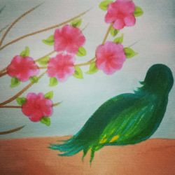 : GREEN BIRD : by Tsatsuke