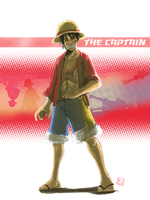 Luffy - 2 Y after by bustercloud