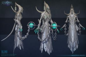 Skeleton Mages Sculpt by FirstKeeper
