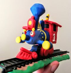 Recreating Casey Jr's maquette pt.2 by GameGeeksDeviant