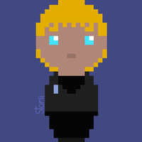 Pixel Thrine by Ahtilak