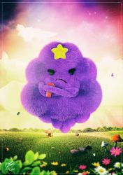Adventure Time - Lumpy Space Princess - Angry by Dmaghar