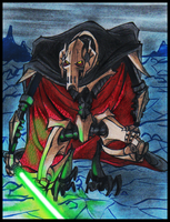 Grievous: 'Is that ALL you've got? ..' by PurpleRAGE9205
