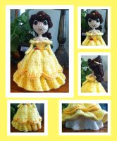 Belle Amigurumi by DarkWater9