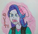 MLP - Ragelight Glimmer by atisuto17