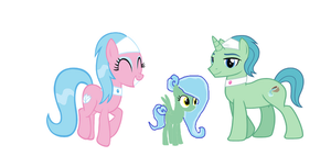 Spa waters family by Alicaondevianart