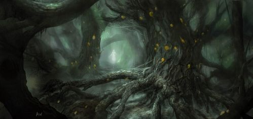 Dark Forest by mutiny-in-the-air