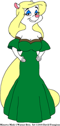 Minerva's Green Gown by tpirman1982