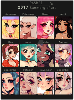 2017 Art Summary by Rasbii