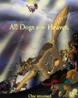 All Dogs go to Heaven by JB-Pawstep