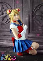Sailor Moon cosplay - Moon Soldier by SailorMappy