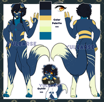 [AUCTION] Moonlight Cat [OPEN] by Yulearse