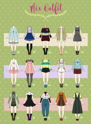 (CLOSED) Casual Outfit adopts 04 by Rosariy