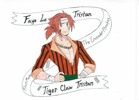 One piece- First mate Tristan (Tiger Claw Tristan) by Proxamina