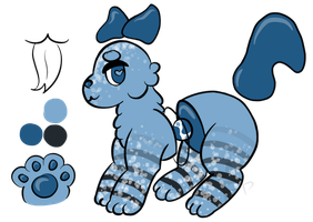 juniper - ouries group mascot by felinescribbles