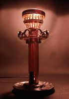 Steampunk Lighthouse lamp 2 by metalmorphoses