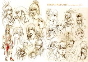 sketchdump 2012 by TashinaKalmbach
