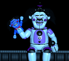 (JOKE) Funtime Freddy in Parts and Service by jorjimodels