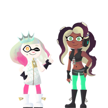 Pearl and Marina by mewtwo365