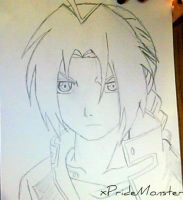 Edward Elric Drawing by xPrideMonster