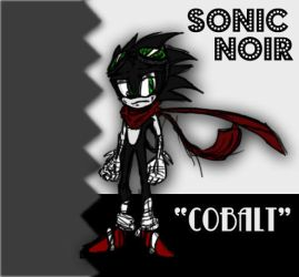 Sonic Noir 'Cobalt' Alt. by Nomad-The-Hedgehog