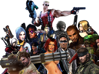 Favorite Characters NEW ID by Wesker500