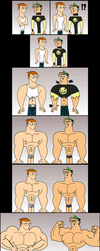 Total Drama - Scott and Duncan Growth, 2017 Update by Apollotalon