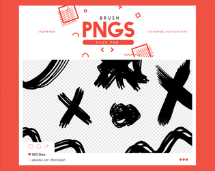 .brush pngs #14 by itsvenue