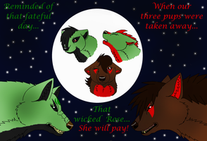 Our Three Pups.... by PittheKidIcarus