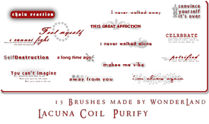 Lacuna Coil - Purify by Foxxie-Chan