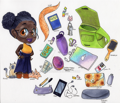 What's in my Bag? Sade by Jyinxe