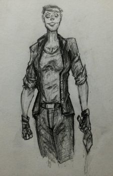 Bloody Mary-The Wolf Among Us by xXdrawingguyXx