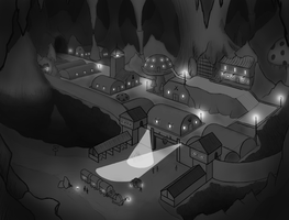 Frontier Town concept by goodsirxv