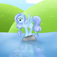 Pony - Drizzle by LethalAuroraMage