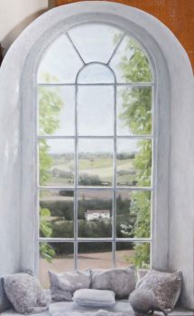 View through a window by rorsdors