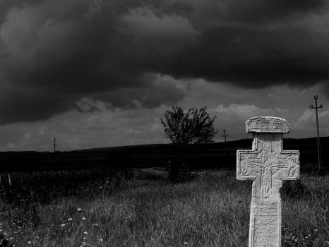 The cross from nowhere by Dunicika