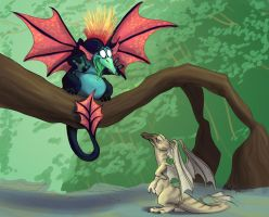 Dragon of Paradise by LynxGriffin