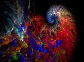 Spiral Abstract by MasPix