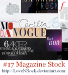 Magazine Stock by LOVEnROCK