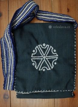 Bag with symbol of Perun by veruce