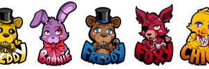 Five Nights at Freddy's Charms by Ringo101