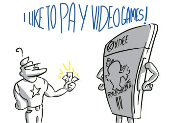 I PAY VIDEOGAMES by Raxater