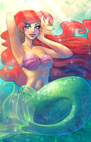 Ariel - Under the Sea by GunnerGurl