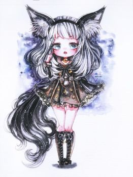 Bns: lyn watercolor commission by Inntary