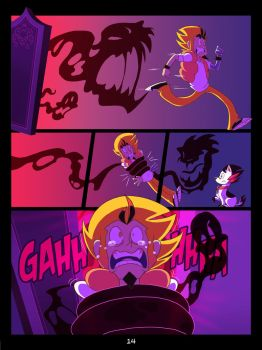 The Mystery Skulls Misadventures: 'Wounds' pg14 by Anastas-C
