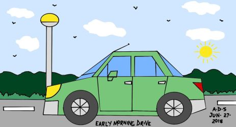 Early Morning Drive by adrian154